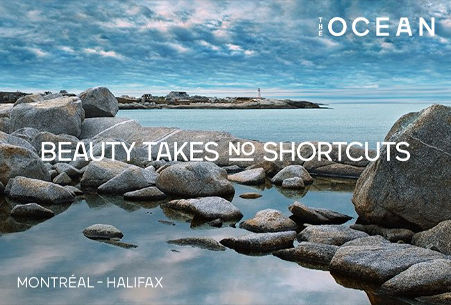 The Ocean - beauty takes no shortcuts